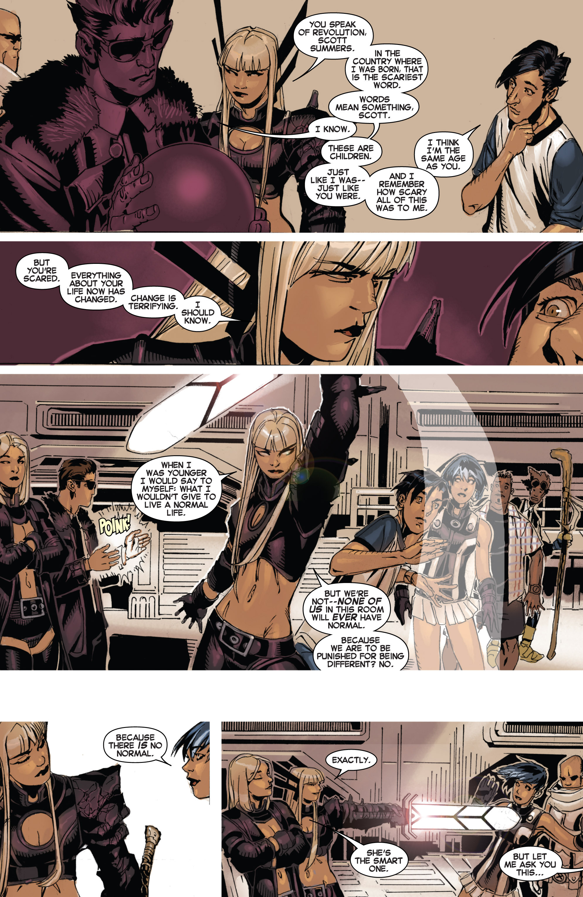 Read online Uncanny X-Men (2013) comic -  Issue #2 - 14