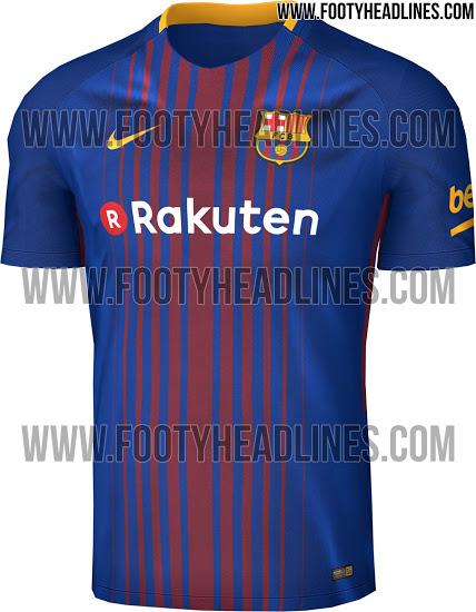 Nueva NIKE primera camiseta del FC Barcelona 2018  dbbe3ff293b57