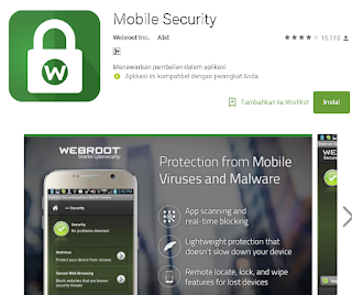 Webroot SecureAnywhere Antivirus for android