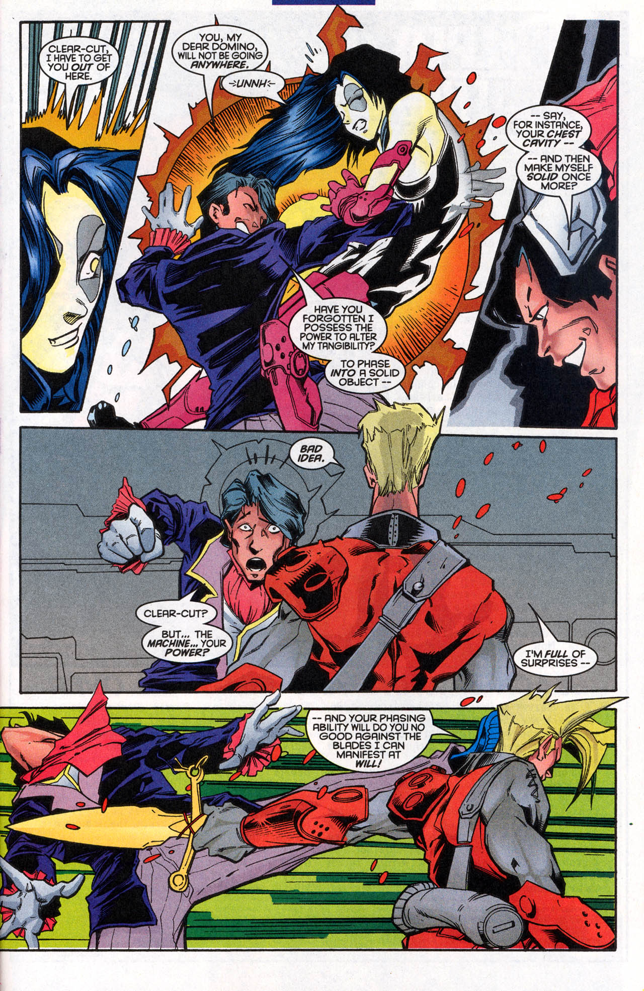 Read online X-Force (1991) comic -  Issue #62 - 26