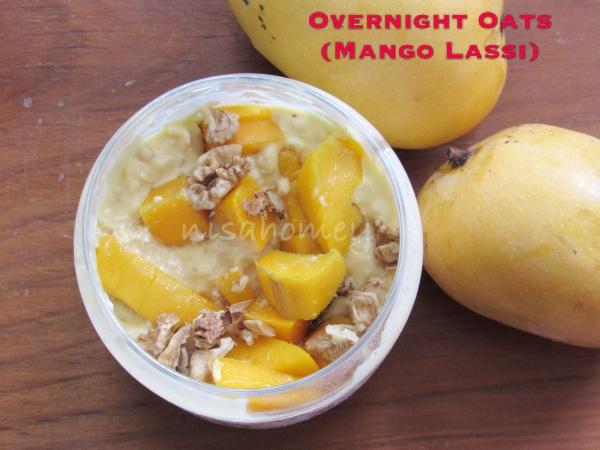 mango lassi overnight oats