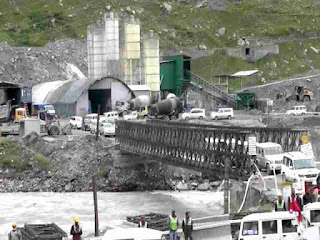 Rohtang tunnel (Atal tunnel) Connection to Lahaul Velly (Keylang)