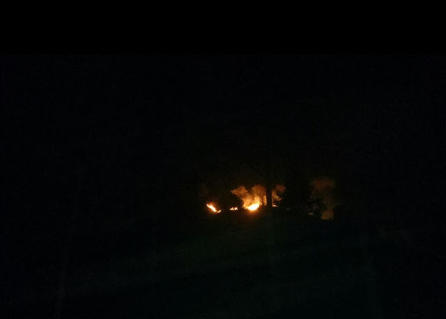 Lagi, Hutan Pinus di Mapongka Mengkendek Terbakar