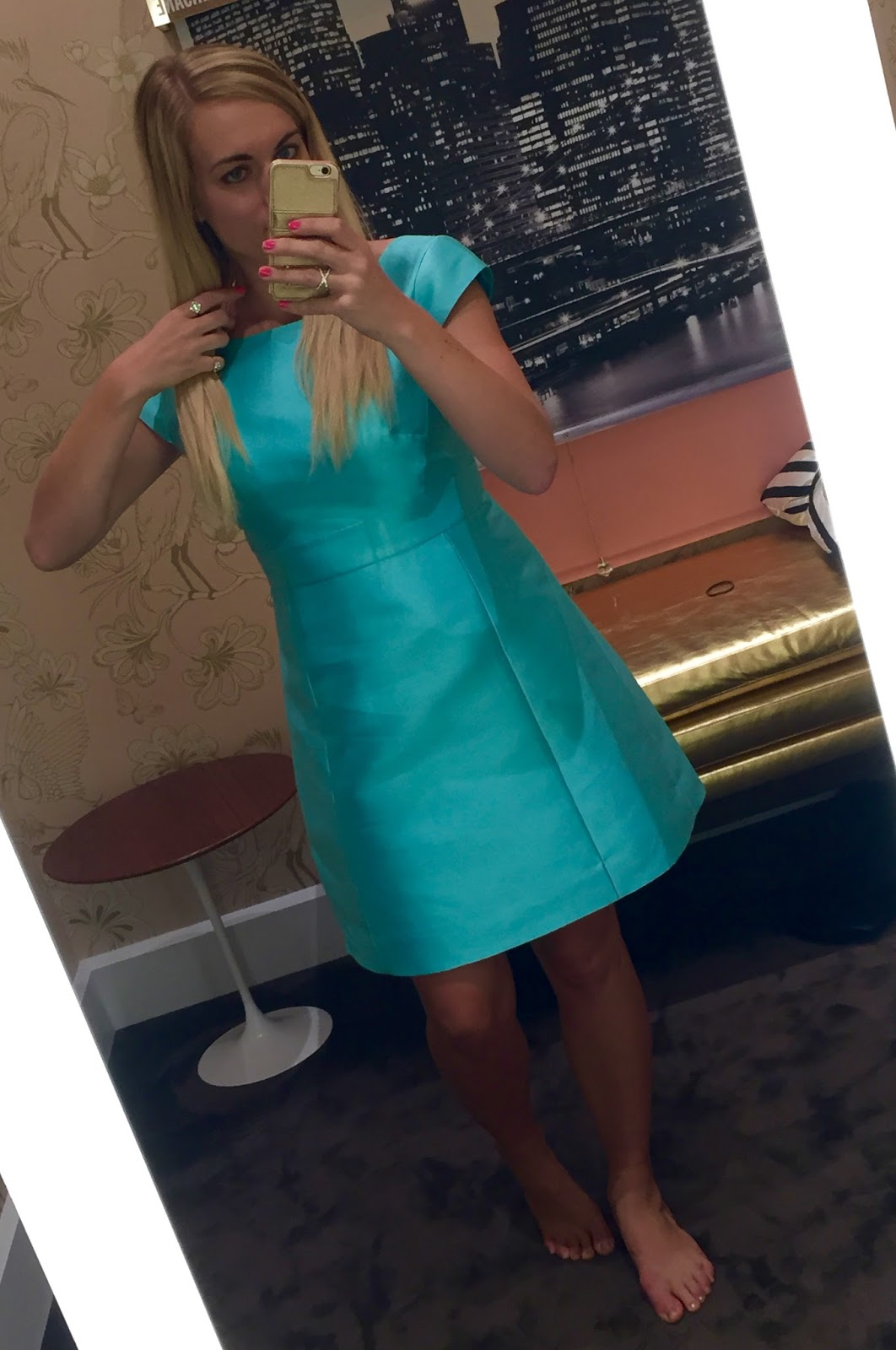 outfit-idea-mint-dress