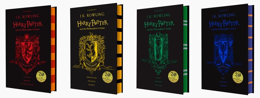 carti in editii aniversare 20 ani Harry Potter