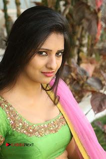 Actress Nikitha Bisht Stills in Lehenga Choli at Pochampally Ikat Art Mela Launch  0326.JPG