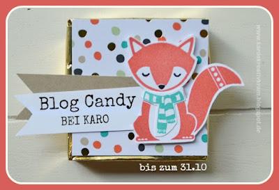 Candy bei Karos Kreativkram