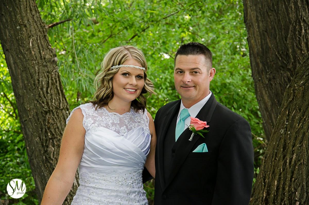 Logan Wedding Photographer | Back Yard Wedding, Amber and Cody