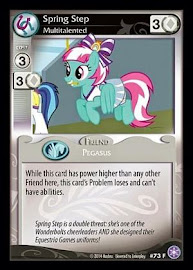 My Little Pony Spring Step, Multitalented The Crystal Games CCG Card