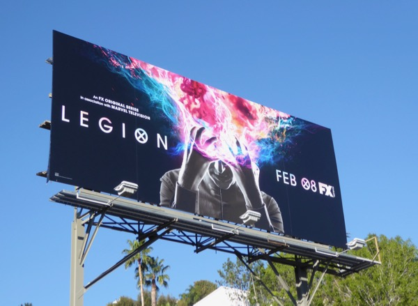 Legion series premiere billboard