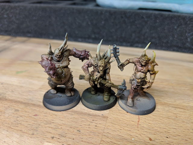 Poxwalkers after washing