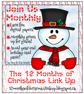 12 months of Xmas link up