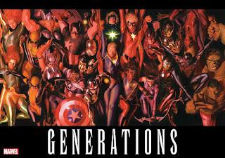 """Marvel lanza una imagen de Alex Ross titulada """"Generations"""""""