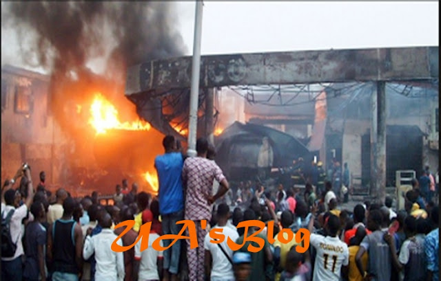 Jikwoyi Fire: Shop, Property Owners Count Losses