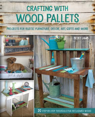Pallet Book, Amazon, building, reclaimed wood, pallets, http://bec4-beyondthepicketfence.blogspot.com/2015/12/12-days-of-christmas-day-12-last-minute.html