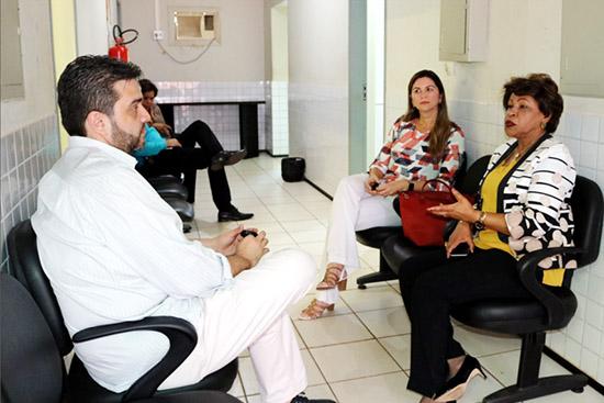 TJMA: Corregedora Anildes Cruz visita Comarca de Vargem Grande