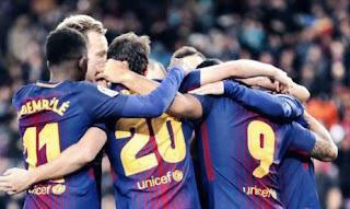 Barcelona Menang 3-0 Atas Levante