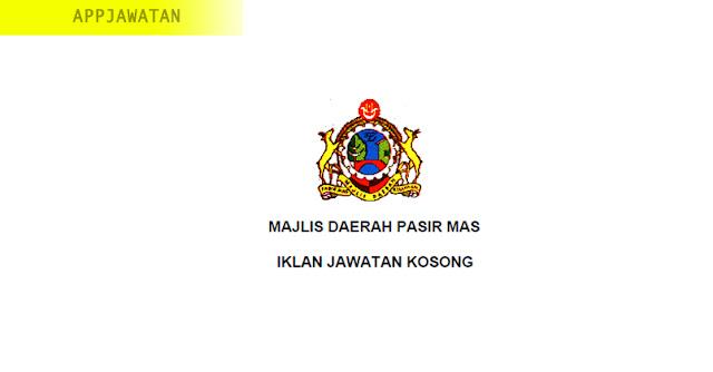 Jawatan Kosong di Majlis Daerah Pasir Mas
