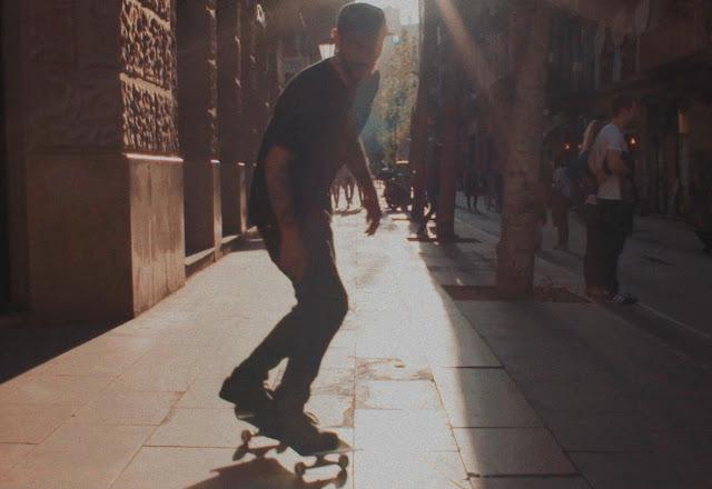 Ein Skate-Short in der wunderschönen Hauptstadt Kataloniens.