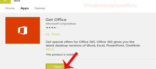 How to install app from store in windows 10