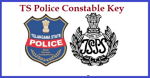 Telangana TS Police Key - Answer Key