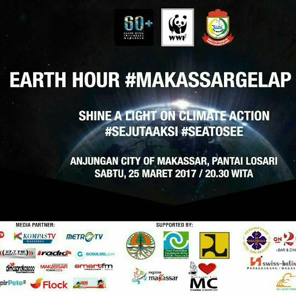 Happy Earth Hour From Makassar