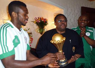 arrival+8 - Super Eagles Arrive Abuja (Photos)