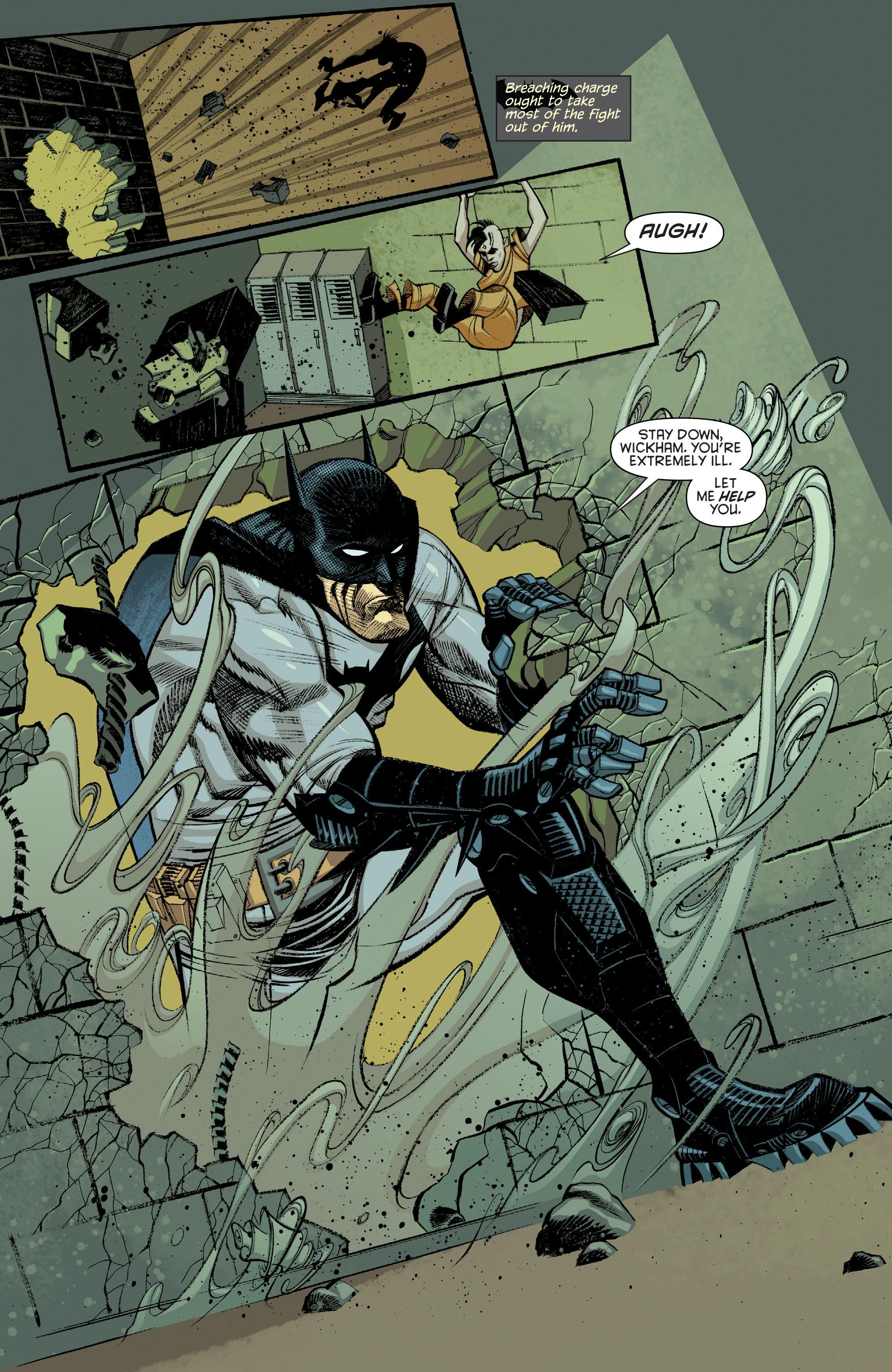 Read online Arkham Manor comic -  Issue #6 - 7