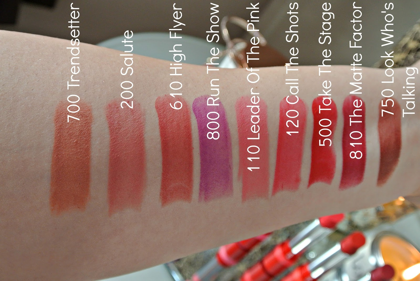 Rimmel The Only 1 Matte Lipstick Swatches Image