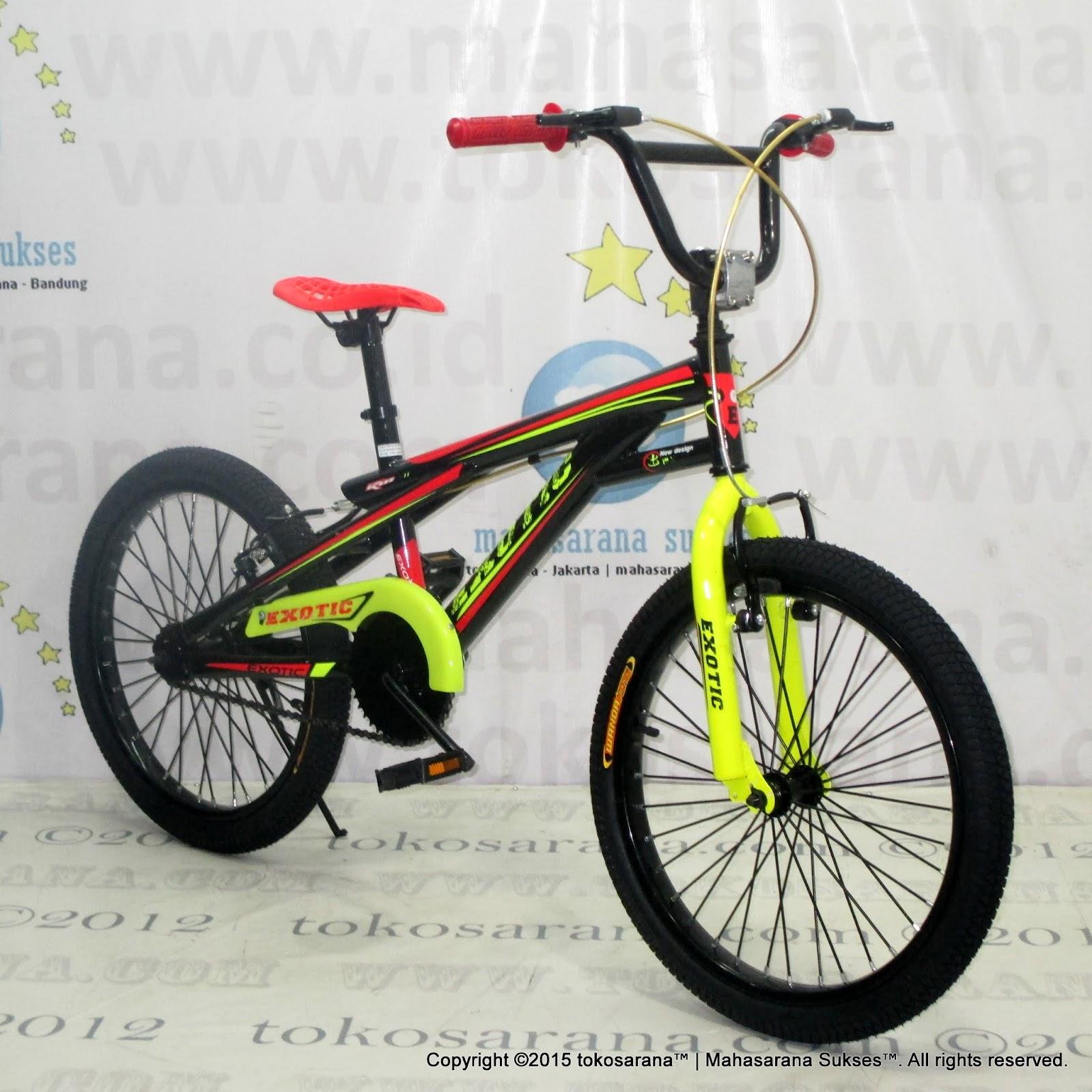 Sepeda BMX Exotic ET209990 20 Inci News Untuk Anak Anda