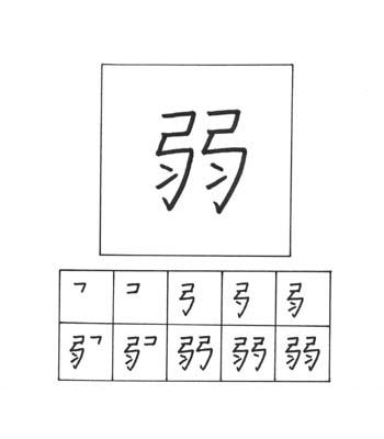 kanji lemah