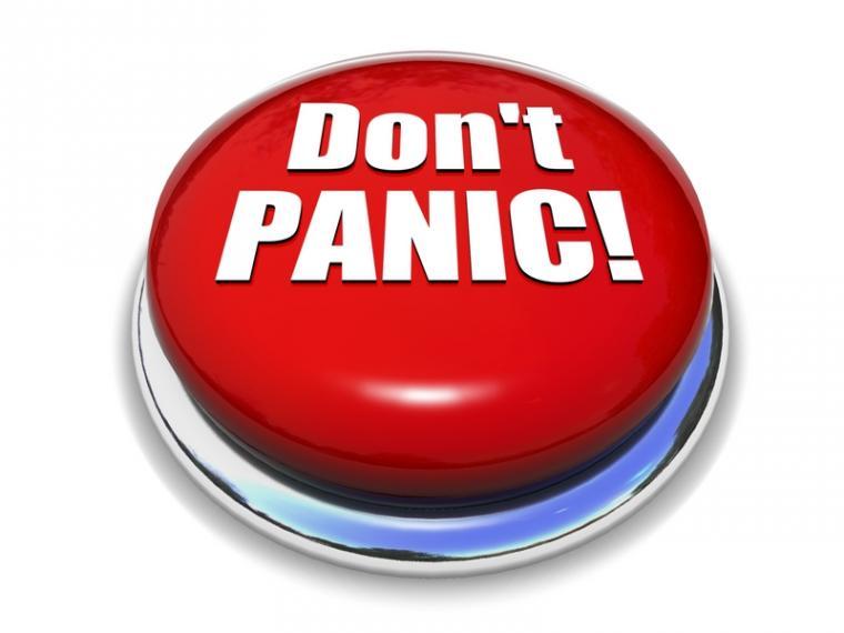 Jangan panik!
