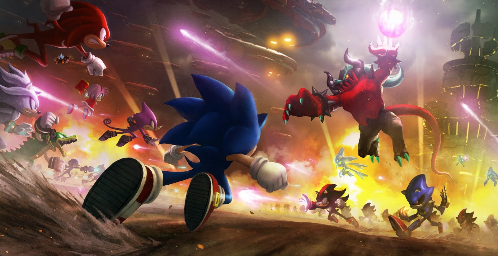 Sonic Forces Review - Potential Unrealised - We Know Gamers