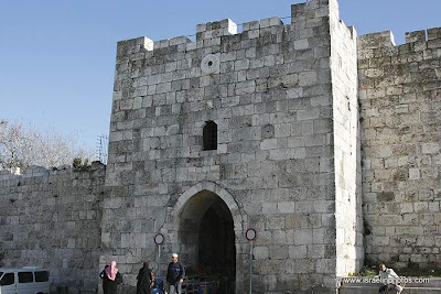 Poort van Herodes te Jeruzalem