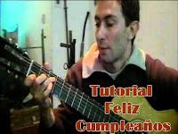Como tocar el feliz cumpleaños con guitarra