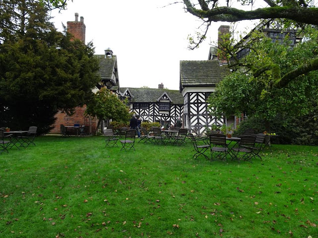 Autumn at Little Morton Hall