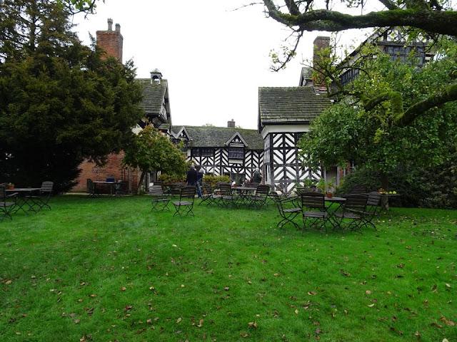 Autumn at Little Morton Hall