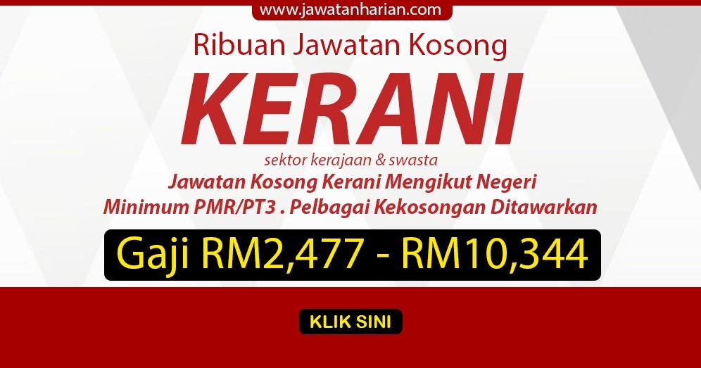 Jawatan Kosong Kerani Shah Alam Soalan 04