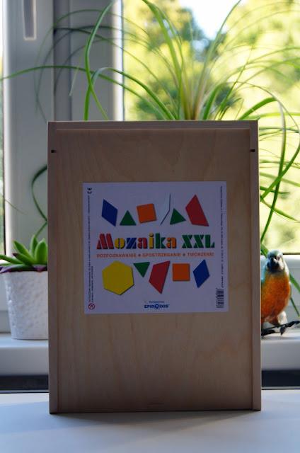 Mozaika XXL - niezwykły prezent dla dziecka.