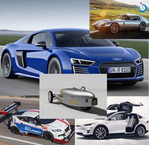 Gambar Mobil Listrik Paling Keren di Dunia