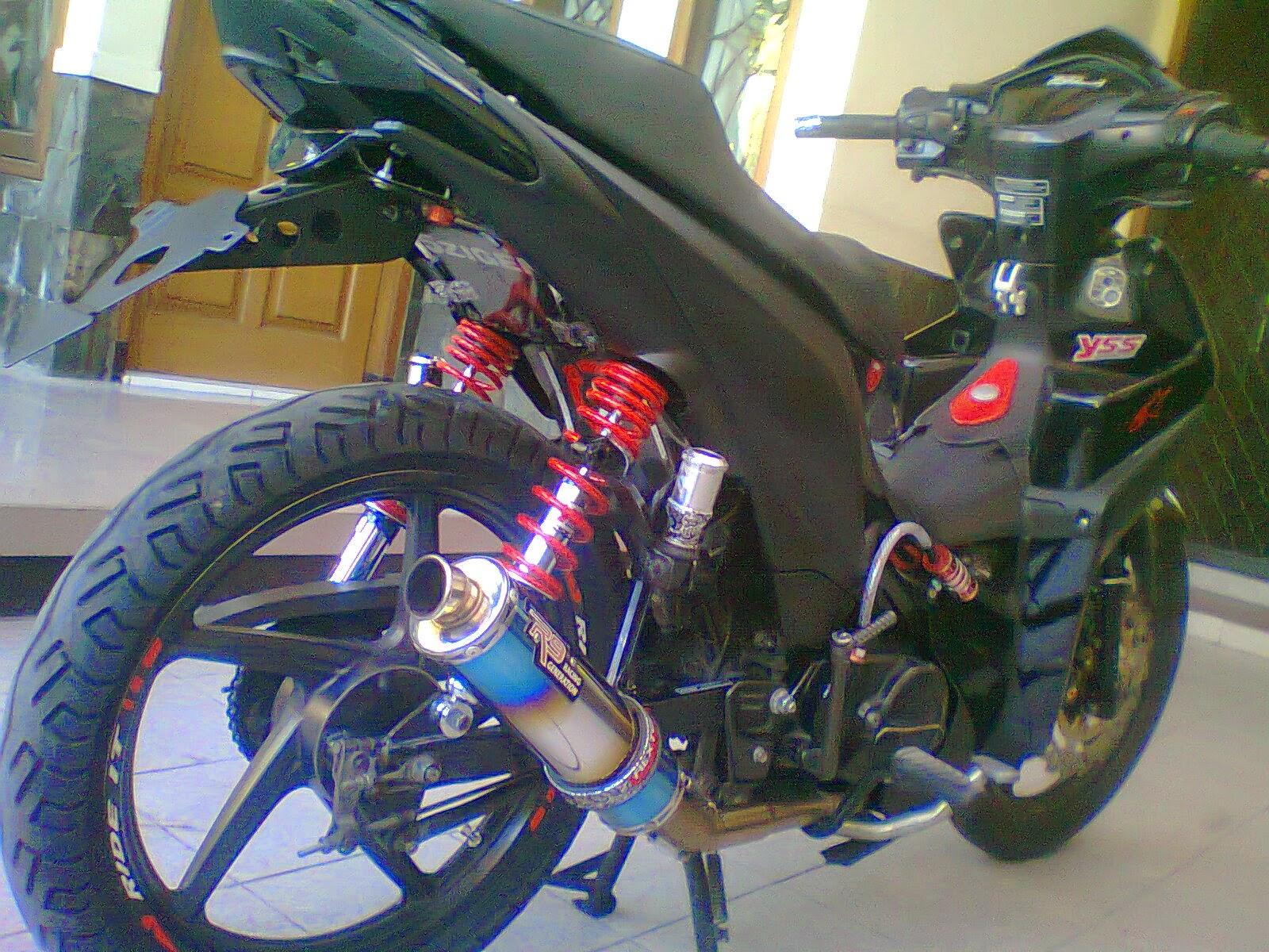Koleksi Ide Modifikasi Motor Revo 110 Terlengkap Obeng Motor