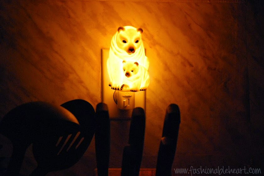 christmas gifts polar bear nightlight