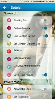 BBM MOD Transparant MatNyong [Material Nyolong] Apk v3.3.4.48