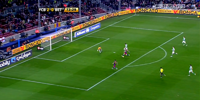 Copa Del Rey : Barcelona 5 vs 0 Real Betis 12-01-2011