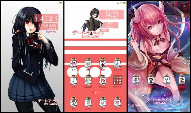 Tema Xiaomi Anime Date a Live