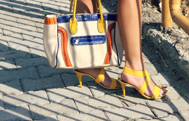 Simos Manos handmade yellow sandals