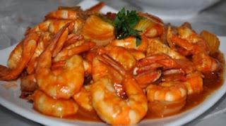 Resep Masakan Udang Saus Asam Manis Pedas Sederhana