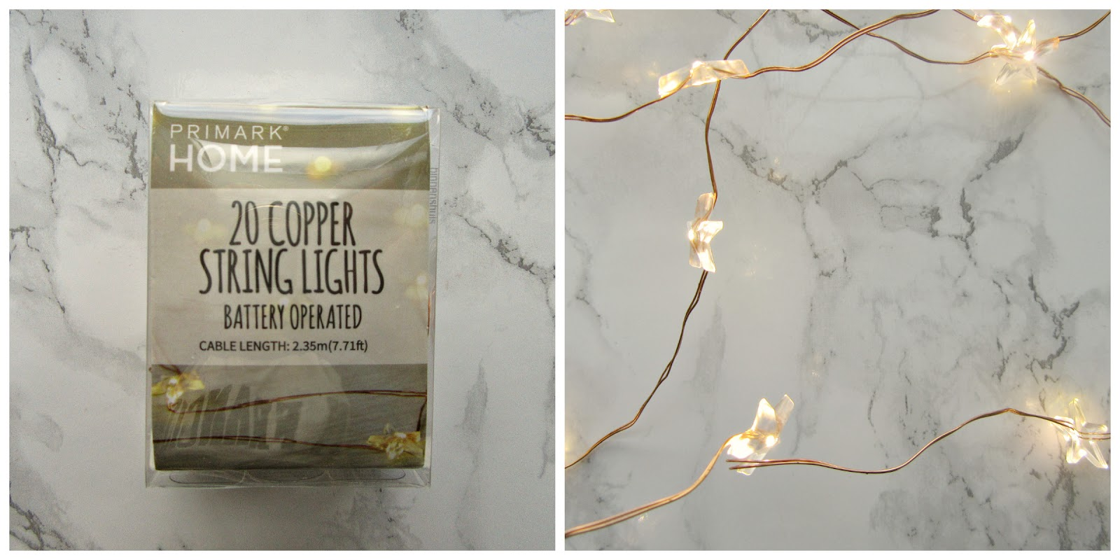 Primark Copper String Lights : Penneys Haul Mama Voom