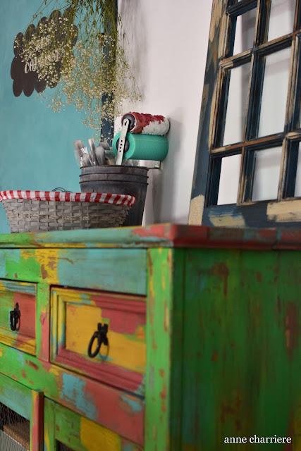 www.annecharriere.com, l'atelier d'anne, benahavis, marbella, atelier peinture, chalk paint, autentico, la pajarita, craquelé, peinture craie, anne charriere,