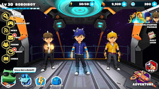 BoBoiBoy Galactic Heroes RPG Apk Mod Unlimited Energy